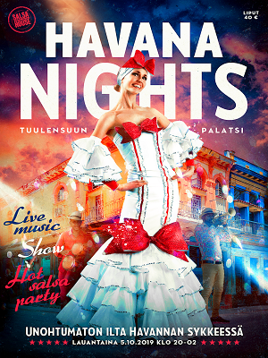 Havana Nights Live Music * Show * Hot Salsa Party